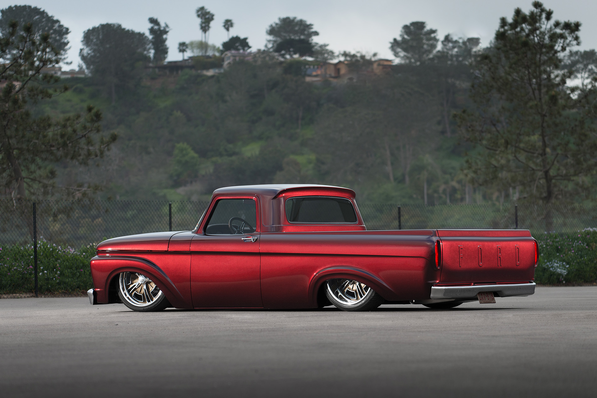 Luke Munnell automotive photography 1961 Ford F-100 truck