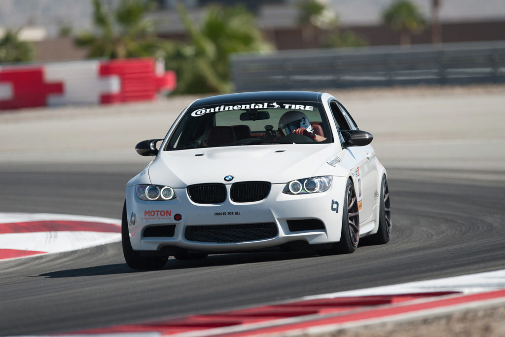 white E92 BMW M3 European Car magazine Tuner GP at Thermal Club automotive photography