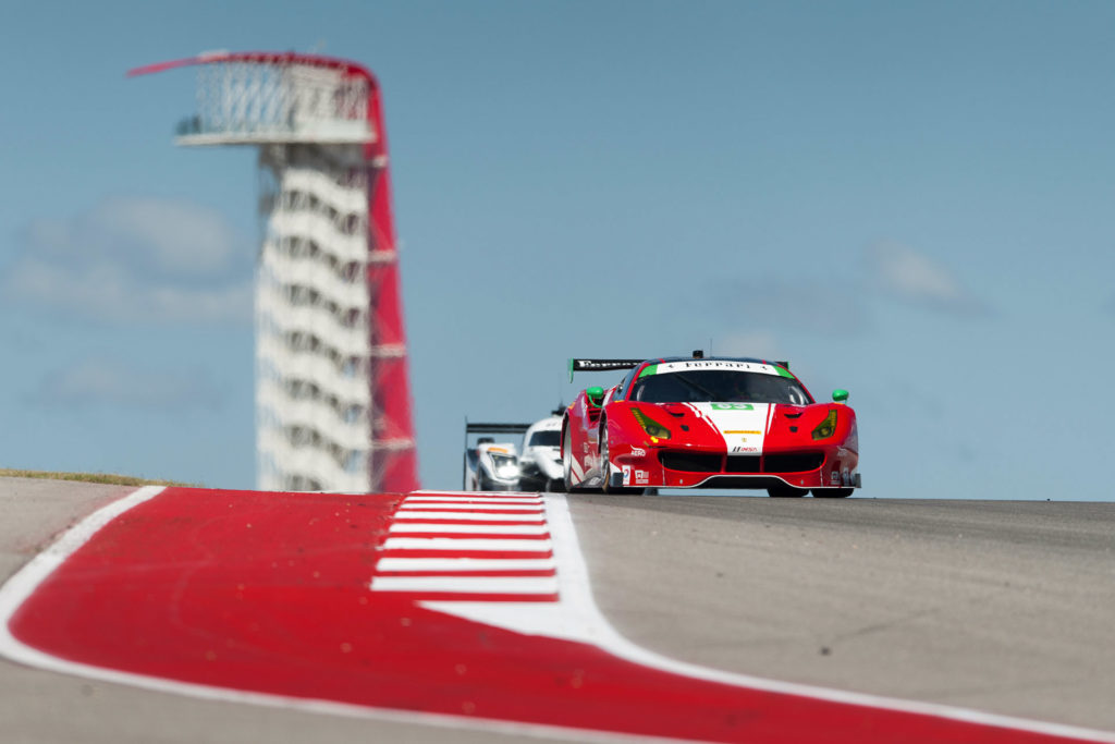 IMSA COTA Scuderia Corsa 63 GT Daytona Ferrari 488 GT3 motorsports photography
