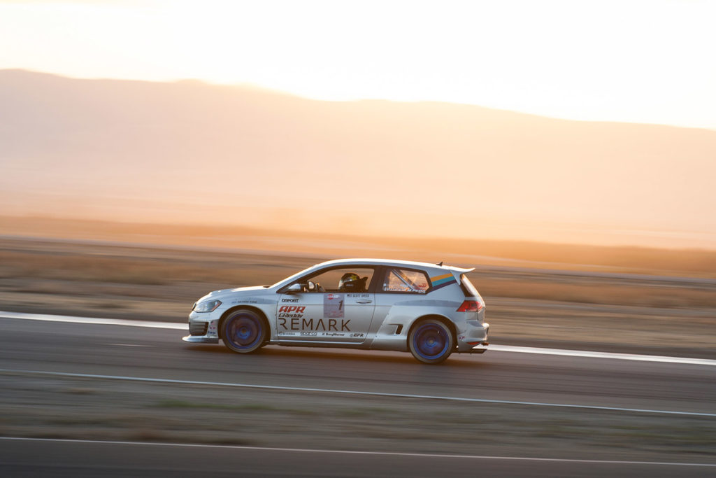Scott Speed GReddy Remark Volkswagen GTI racing at Global Time Attack Super Lap Battle motorsports photography