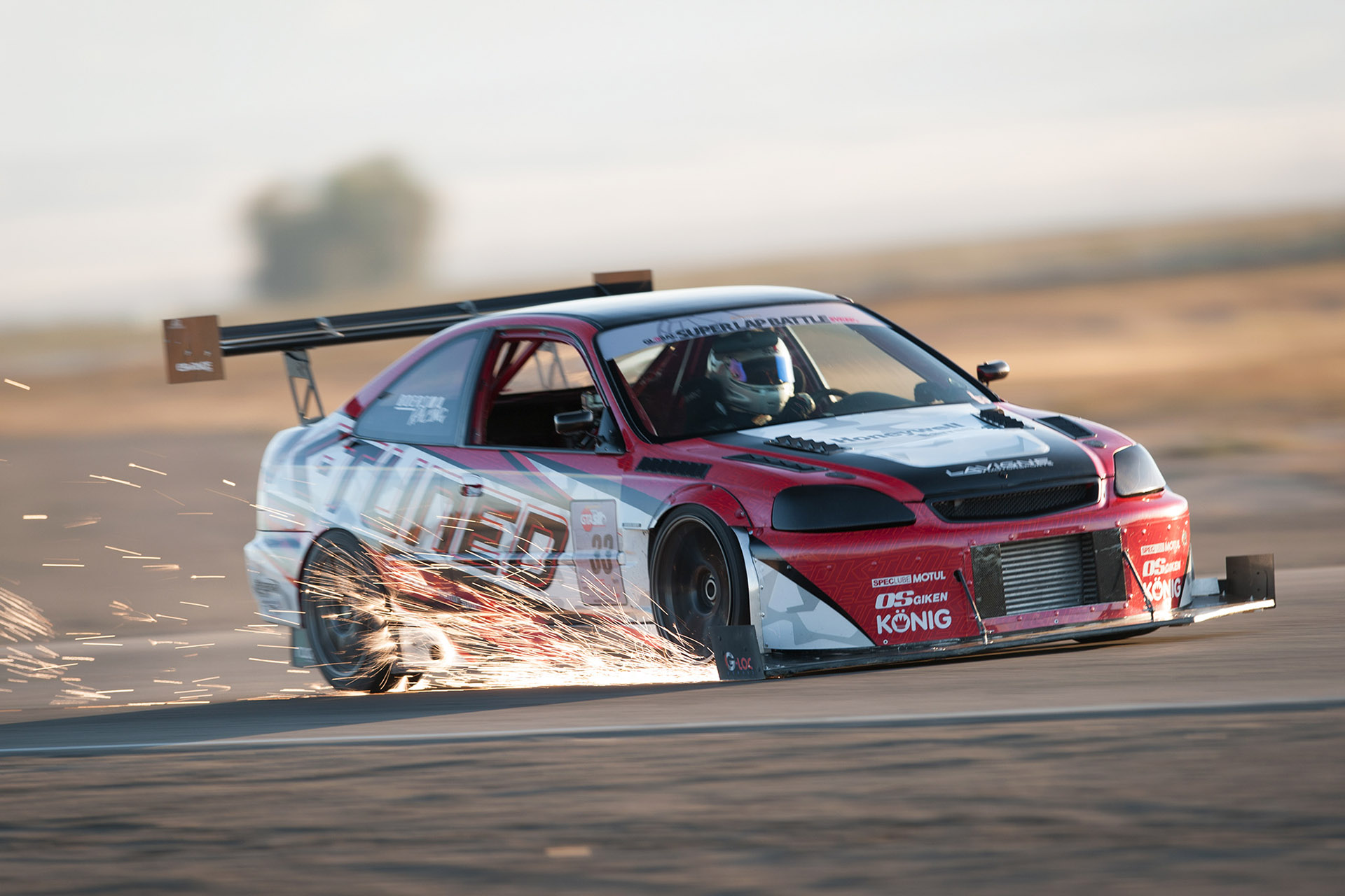 luke Munnell motorsports photography Global Time Attack Super Lap Battle Chris Boersma Honda Civic sparks motion racing