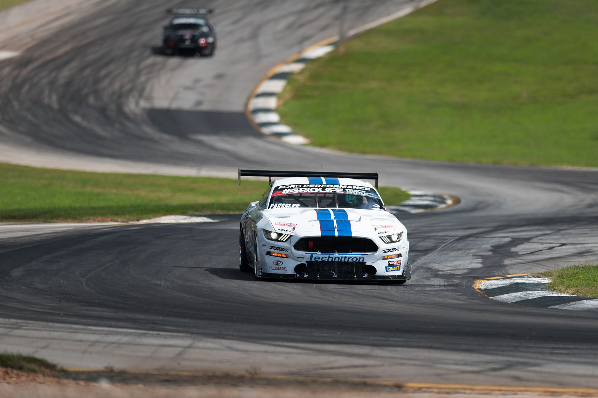 luke Munnell motorsports photography Ford Mustang Road Atlanta time-attack racing by Paul's Automotive Engineering