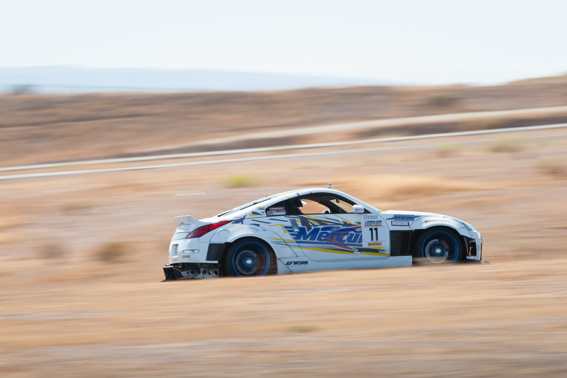 Luke Munnell motorsports photography Nissan 350Z Mercury Auto racing in Super Street magazine Show Car Shootout