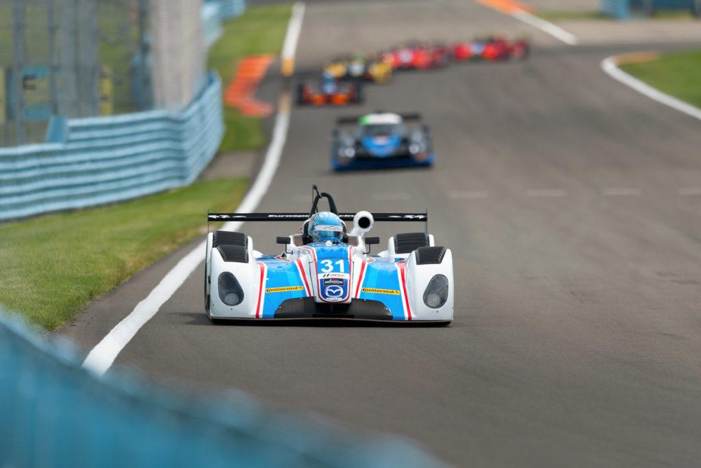 IMSA Watkins Glen Prototype Challenge Eurosport Racing 31 front motorsports photography
