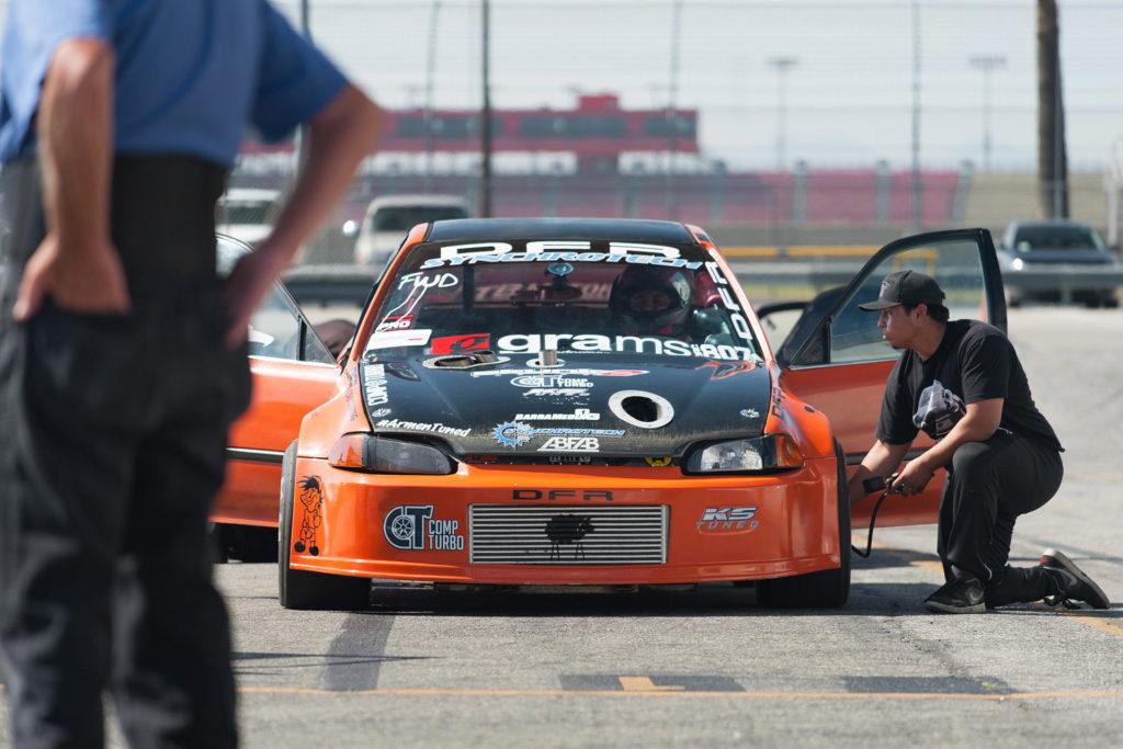 Driver B Sport FWD drag Honda Civic Import Faceoff Fontana