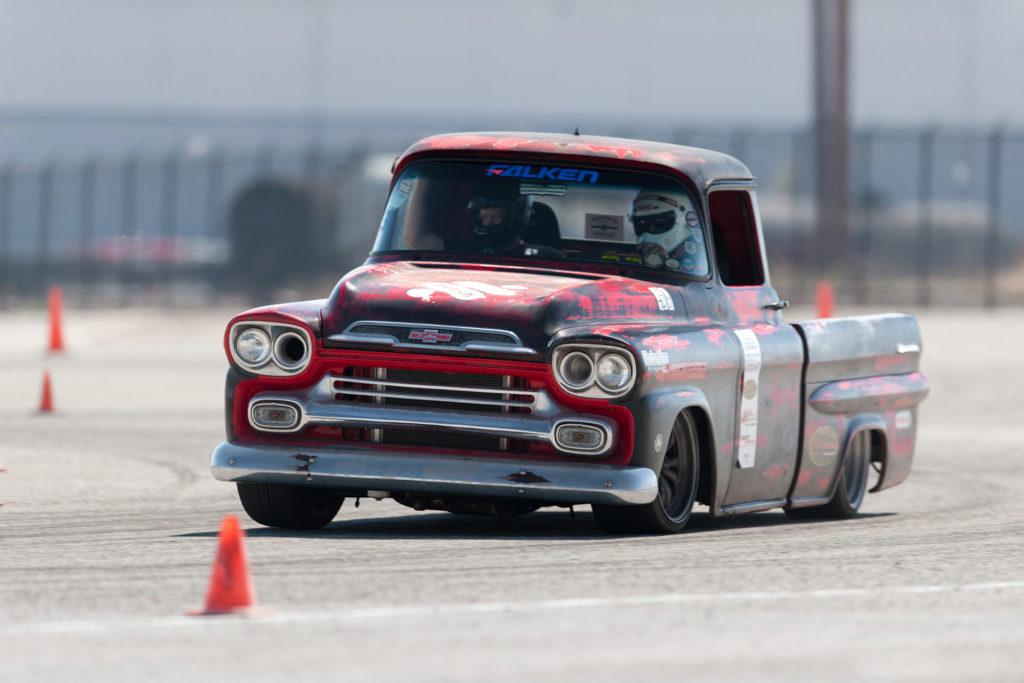 Wes Drelleshak 1959 Chevrolet Apache truck Hotchkis Auto X Fontana