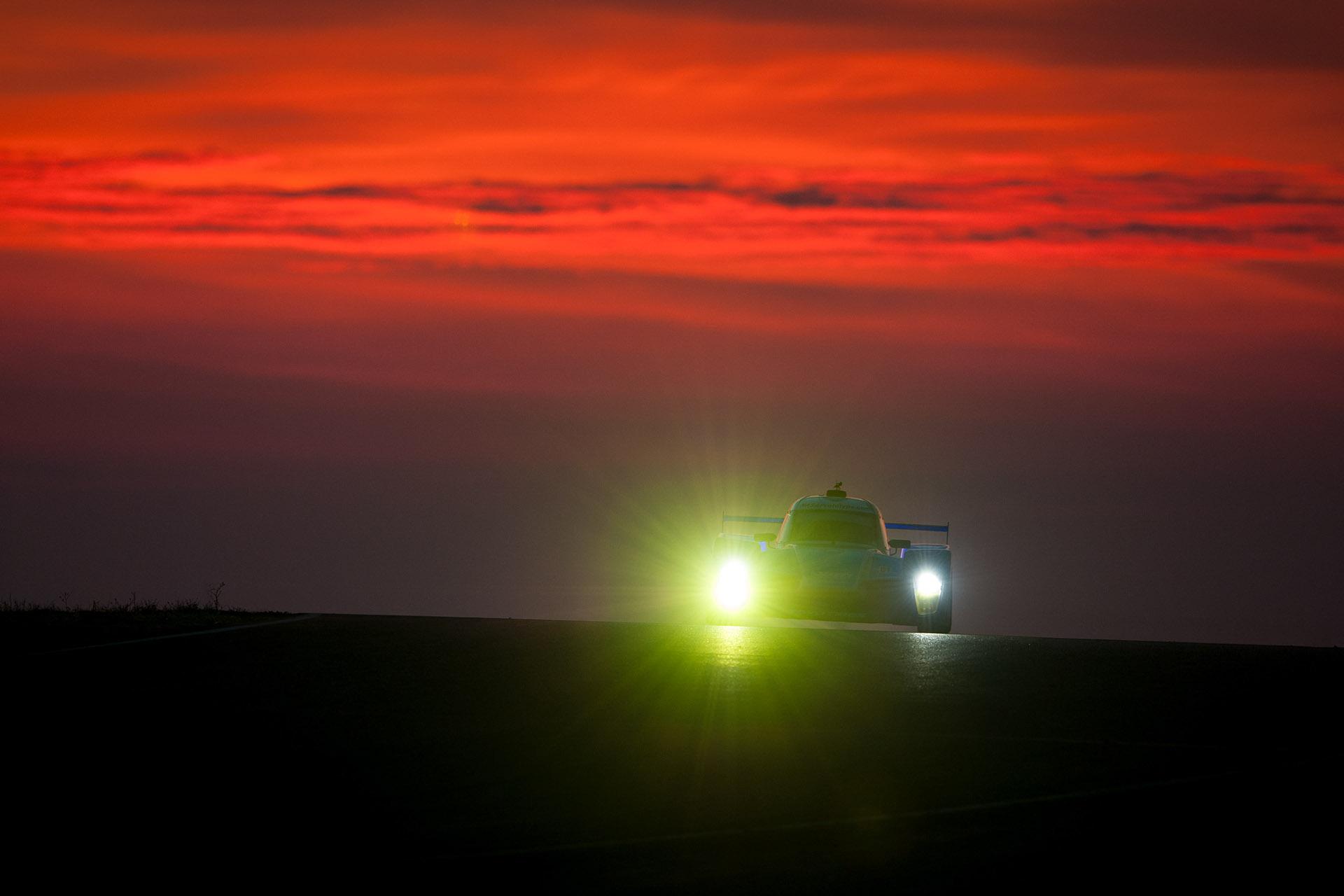 25 Hours of Thunderhill NP01 sunrise