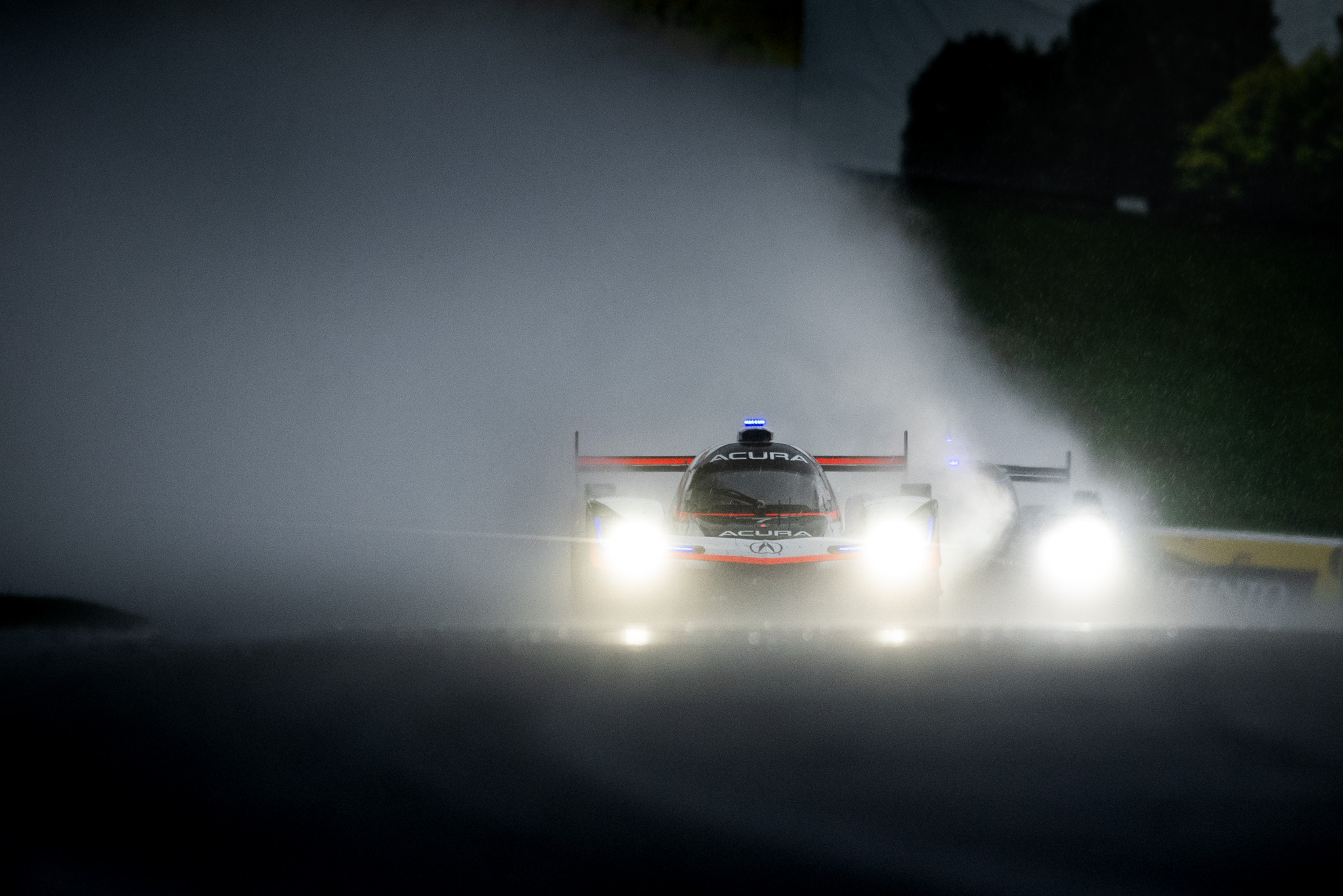 IMSA Road America 2020 WeatherTech Championship series Acura Team Penske ARX-05 DPi racing in the rain Luke Munnell motorsports photography