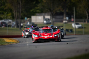 Whelen Engineering and the Cadillac DPI-V.R, leading the pack at IMSA Mid Ohio 2020, motorsports photography by Luke Munnell