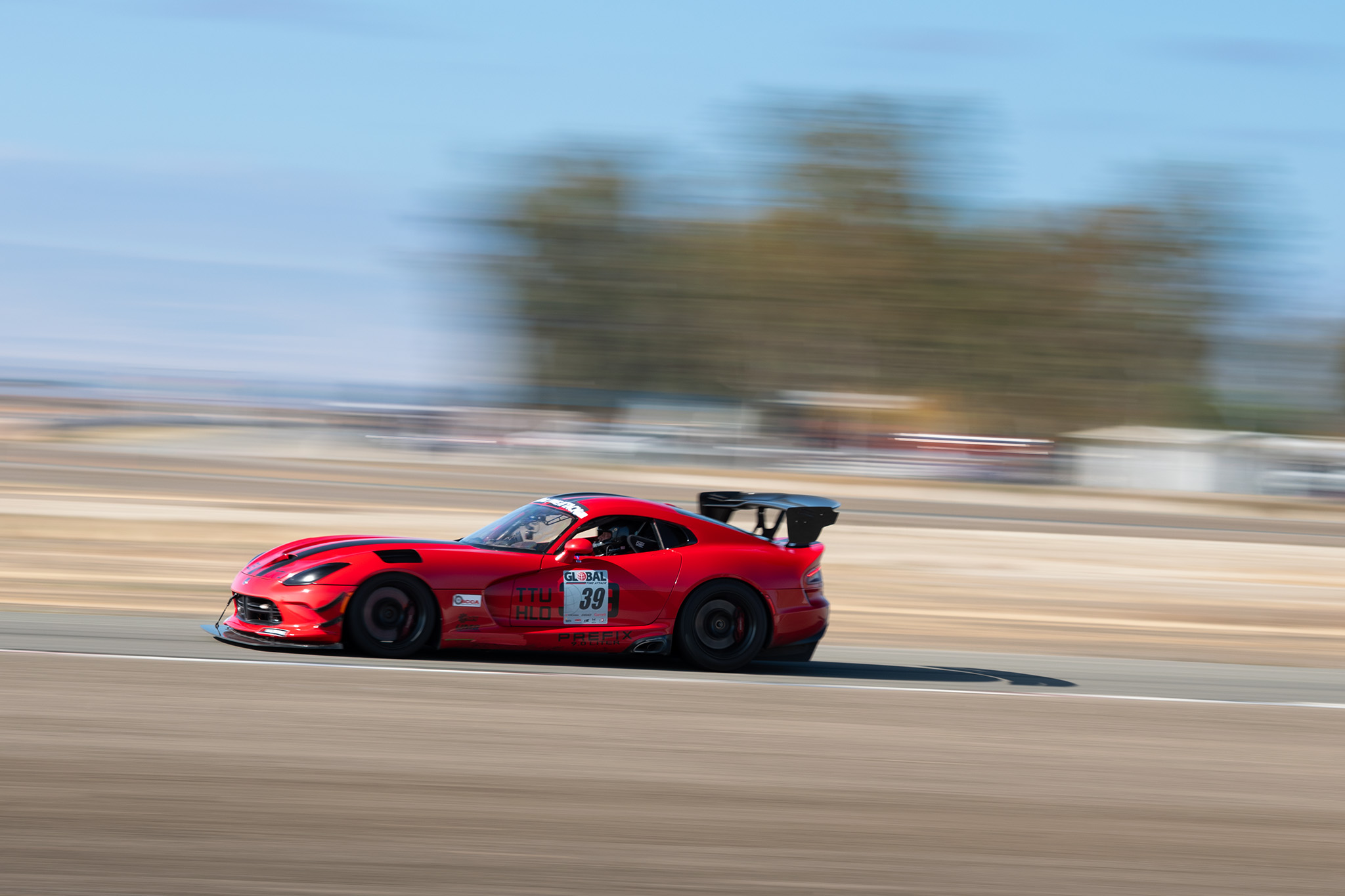 Cable Rosenberg and his Dodge Viper at Global Time Attack finals, motorsports photography by Luke Munnell