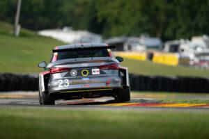 IMSA Road America FastMD Audi TCR rear shot wheel up Luke Munnell